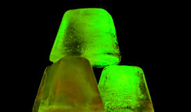 Green ice Stock Images