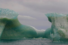 Green iceberg Royalty Free Stock Images