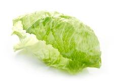 Green iceberg lettuce leaf Stock Photo