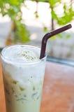 green iced tea Arkivfoto