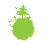 Green icon Royalty Free Stock Image