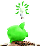 Green idea Stock Photos