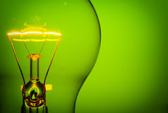 Green idea Stock Photo