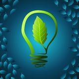 Green idea for earth Royalty Free Stock Image