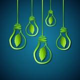 Green idea for earth Stock Photo