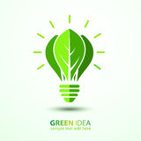 Green idea Royalty Free Stock Images