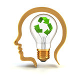 Green idea Royalty Free Stock Photos