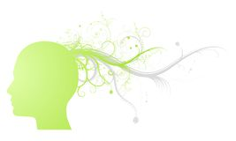 Green ideas Royalty Free Stock Photography