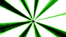 Green Illuminated 3D Tunnel Motion Background. stock footage