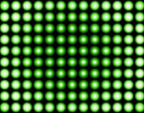 Green illusion background. Green abstract balls Stock Photos