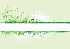 Green illustration Stock Image