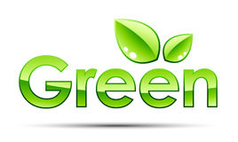 Green illustration Stock Image