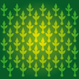 Green Indian textile pattern Royalty Free Stock Photo