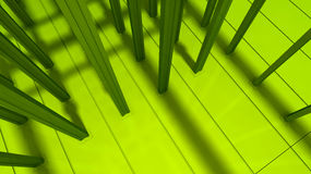 Green industrial background Stock Image