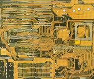 Green industrial electronic background Royalty Free Stock Image