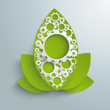Green Industry Big Leaves PiAd Royalty Free Stock Photo