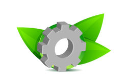 Green industry concept illustration design Stock Images