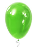 Green inflatable air balloon Stock Photo