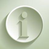 Green information Royalty Free Stock Photo