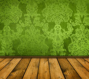 Green interior Royalty Free Stock Photo