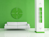 Green interior Stock Images