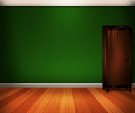 Green Interior Background Royalty Free Stock Photography