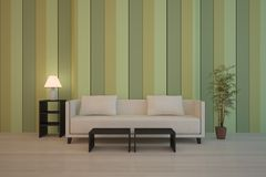 Green interior composition Royalty Free Stock Photography
