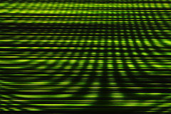 Green interlaced tv static noise Stock Photography