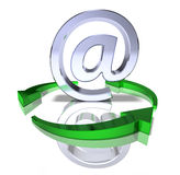 Green internet Stock Photos