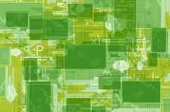 Green Internet Background vector illustration