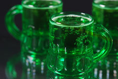 Green Irish Beer Royalty Free Stock Images
