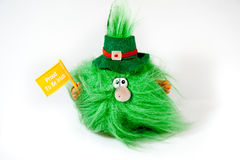 Irish gremlin Royalty Free Stock Images