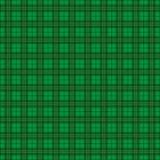 Green Irish Tartan Pattern Royalty Free Stock Image