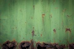 Green iron background stock photo