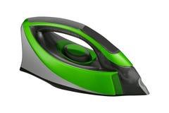 Green Iron isolated on white stock image