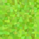 Green rectangle tiled mosaic pattern background with 3d effect. Green irregular rectangle tiled mosaic pattern background with 3d effect Stock Photos