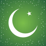 Green islamic vector background Royalty Free Stock Photography