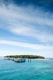 Green island Stock Images