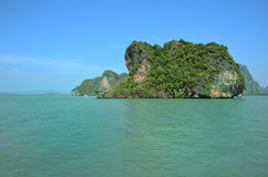 Islands in Andaman sea Thailand Stock Photography