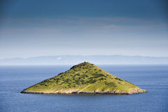 Green island Stock Photo