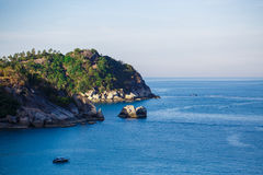 Green island in Thailand Royalty Free Stock Photography
