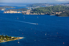 Croatia, Korcula island Royalty Free Stock Photos