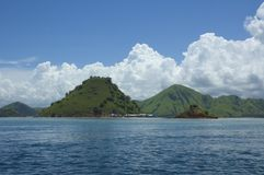 Green islands stock images