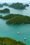 Green islands Royalty Free Stock Images