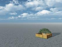 Green isle Stock Image