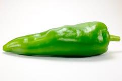green isolerad pepparwhite Arkivfoton