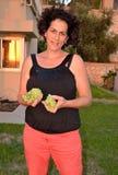 Green Israeli grapes Royalty Free Stock Photography