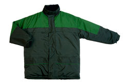Green jacket Royalty Free Stock Images