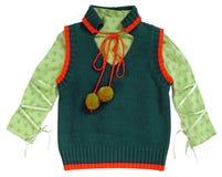 Green jacket Royalty Free Stock Image