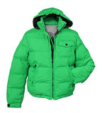 Green jacket Stock Photography